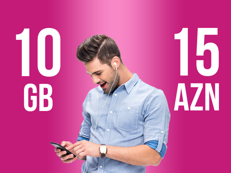 10GB for 15 AZN